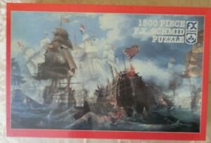 A tribute to Nelson Ships galleon boats harbour FX Schmidt 1500 jigsaw puzzle