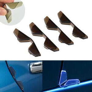 4Pcs Universal Car Door Edge Anti-Collision Corner Cover Scratch Protector Clips