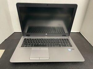 HP Elitebook 850 G4-i5-7200U@2.5GHz 8GB 256GB SSD Win 10 W/CORD **READ** (10204)