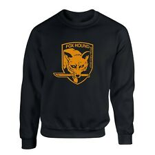 FOXHOUND Sweatshirt Metal Gear Solid Fox Special Forces Gaming Pullover Sweater