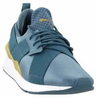 Puma Muse Satin Ep Womens  Sneakers Shoes Casual   - Blue