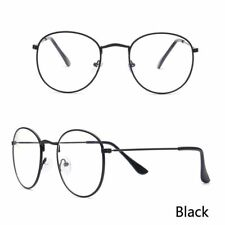 Classic Gold Frame Clear Glasses Unisex Spectacle Clear Lens Optical Eyewear