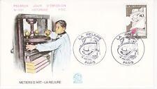 Enveloppe 1er jour FDC n°1207- 1981 - Métiers d'Art La reliure
