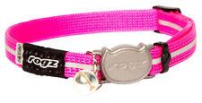 Rogz Alleycat Safeloc Collar Pink 8mm