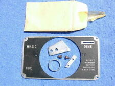 Buckley wallbox Music Box face plate & parts for ten cent conversion