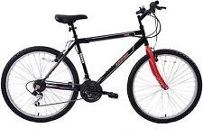 "Mens Mountain Bike Arden Trail 26"" Wheel Bicycle 21 Speed Black/Red 19"" Frame"