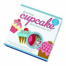 First Time Cupcake Decorating Kit: Includes Tools for Decorating Cupcakes with P