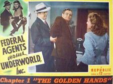 Federal Agents vs. Underworld, Inc - Cliffhanger Serial Movie DVD Kirk Alyn