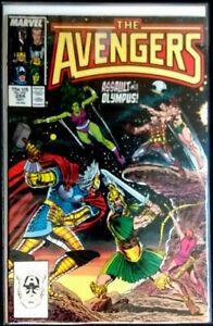 Avengers Vol. 1, #284; Grading: VF+
