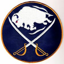 BUFFALO SABRES EICHEL 1970'S AUTHENTIC SWEATER JERSEY EMBLEM LOGO CREST NHL PUCK