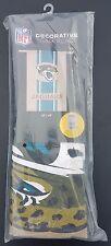 "New listing Nfl Licensed *Jacksonville Jaguars Burlap House Flag Football Fans 28""x44"""