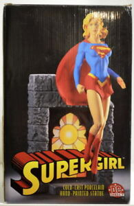 "SUPERGIRL Ltd Ed 10 1/4"" Full Size Statue #571/2000 w COA Tim Bruckner sculpt DC"