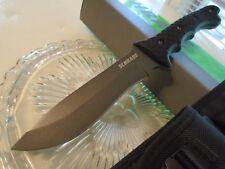 Schrade Griffin Design Hunter Bowie Combat Knife 6mm Full Tang SCHF9 1095 CS New