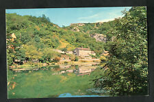 C1960s View: Houses, Cheddar Yeo River