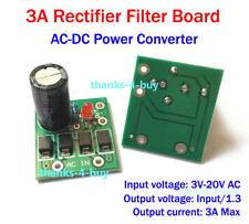AC-DC 3V 3.3V 5V 6V 9V 12V 3A Max Rectifier Filter Power Supply Converter Board