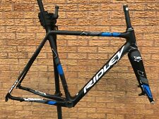 Ridley X-Night SL Carbon Cyclocross Frameset Disc Quick Release 54cm Blue Black