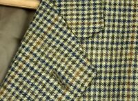 BOLD Recent Joseph Abboud Brown Gun Club Check Cashmere Wool Sport Coat 46 L USA