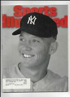 August 21 1995 Sports Illustrated Magazine ~ Mickey Mantle New York Yankees