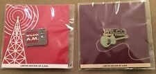 WILCO Enamel Pins Set of 2 PROMO ONLY for A.M. & Being There Reissues lp cd 2017