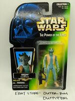 Kenner Star Wars The Power Of The Force Greedo Action Figure MOC Sealed POTF