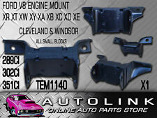 FRONT ENGINE MOUNT SUIT FORD FALCON XR XT XW XY GS & GT V8 302 351 RUBBER EACH