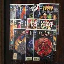 DC LEGION LOST 1 3 4 5 6 7 8 9 10 11 12 + LEGION WORLD 1 2 & 6 (OF SUPER HEROES)