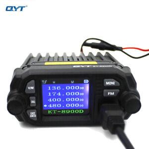 QYT KT-8900D 25W Mini Mobile Radio Dual band 136-174&400-480MHz FM Transceiver