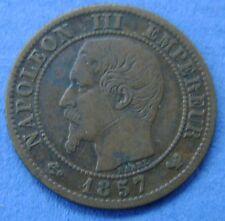Frankrijk - France - Un 1  centime 1857 W Lille  Napoléon III
