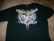 New Orleans Saints NFL Super Bowl XLIV Champion T-Shirt Rebok Size XL