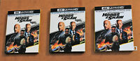 FAST & FURIOUS HOBBS & SHAW 4K ULTRA + BLURAY + DIGITAL SLIPCOVER NEW LOT OF 3
