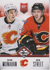 2012-13 Limited Rookie Redemption Flames #4 Sean Monahan/Ben Street /499