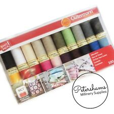 Gutermann Threads 20 PCE Variety Set Sew All Thread Collection - 100m Spools