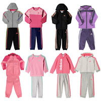 adidas Performance Baby-Jogger Kinder-Jogginganzug Mädchen-Trainingsanzug Set