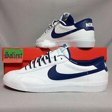 Nike Tennis Classic AC uk10 377812-121 eur45 us11 Bianco Blu Navy Bruin QS Blazer SB