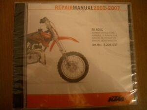 ^ KTM Repair Manual CD-Rom 250 SX-F, 2005-2006