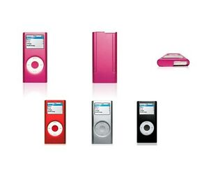 For Apple iPod Nano 2nd Gen Aluminum Metal Hard Case Cover Screen Protector
