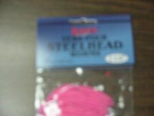 Raven Steelhead Worms 3 1/2 inch Hot Pink