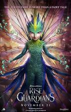 POSTER LOCANDINA LE 5 LEGGENDE RISE OF THE GUARDIANS BABBO NATALE JACK FROST #12