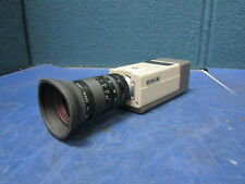 Sony CCD Video Security Camera DXC-101 w/ Cosmicar 12.5-75mm TV Zoom Lens