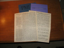 1889-2018 Modernist Poet, Critic, and Editor Arthur Symons Twelve Uncommon Items