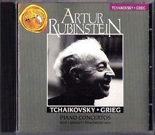 Artur RUBINSTEIN: TCHAIKOVSKY GRIEG Leinsdorf Wallenstein CD Klavierkonzerte