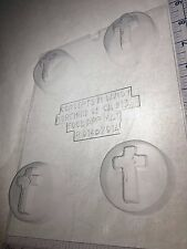 CROSS COOKIE MOLD CLEAR PLASTIC CHOCOLATE COOKIE MOLD R014
