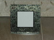 Photo frame - mirrored mottled glass