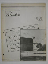 Jan-Feb 1964 A Quail Call Penn-Ohio Ford Model A Inc. Club Magazine
