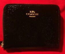 COACH leather mini wallet