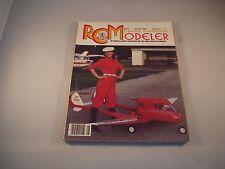 RC RADIO CONTROL MODELER MAGAZINE AUGUST 1986