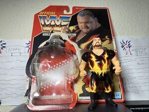 WWF Bam Bam Bigelow Hasbro Series 8 1994 100% MINT Card bubble included WWE WCW