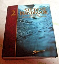 $90 new STUDENT handbook 2 HARD COVER 1100 PAGE YOUNG READERS COMPANION