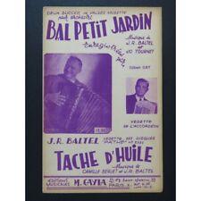 Ball- klein Garten &; Fleck Öl Akkordeon 1953 Partitur sheet music score