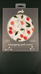 Red Rover Cotton Muslin Changing Pad Cover New